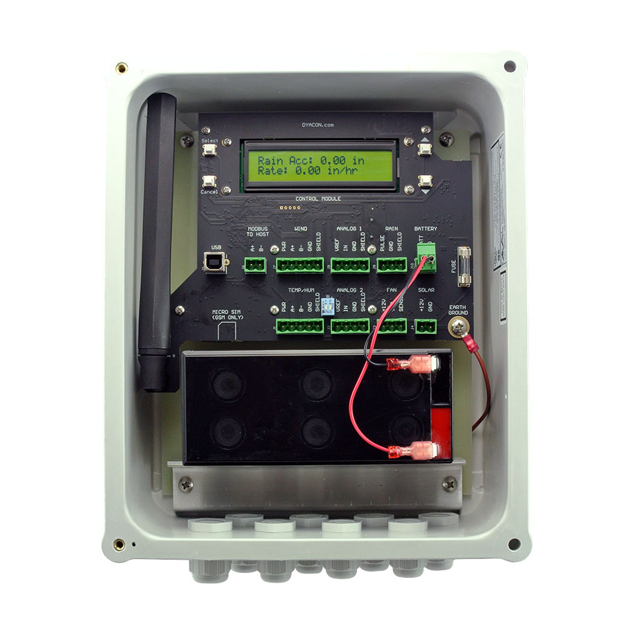 Weather Station Controller And Data Logger