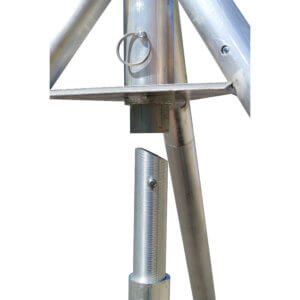 Bottom-up Tripod Mast Assembly 1
