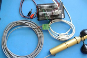 SDI-12 Data Logger Connection