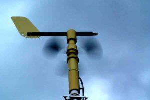 Spinning Wind Sensor
