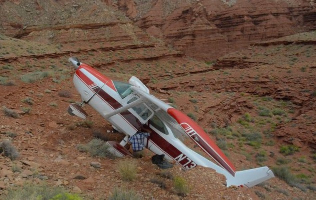 Plane Crash At Hidden Splendor Airstrip