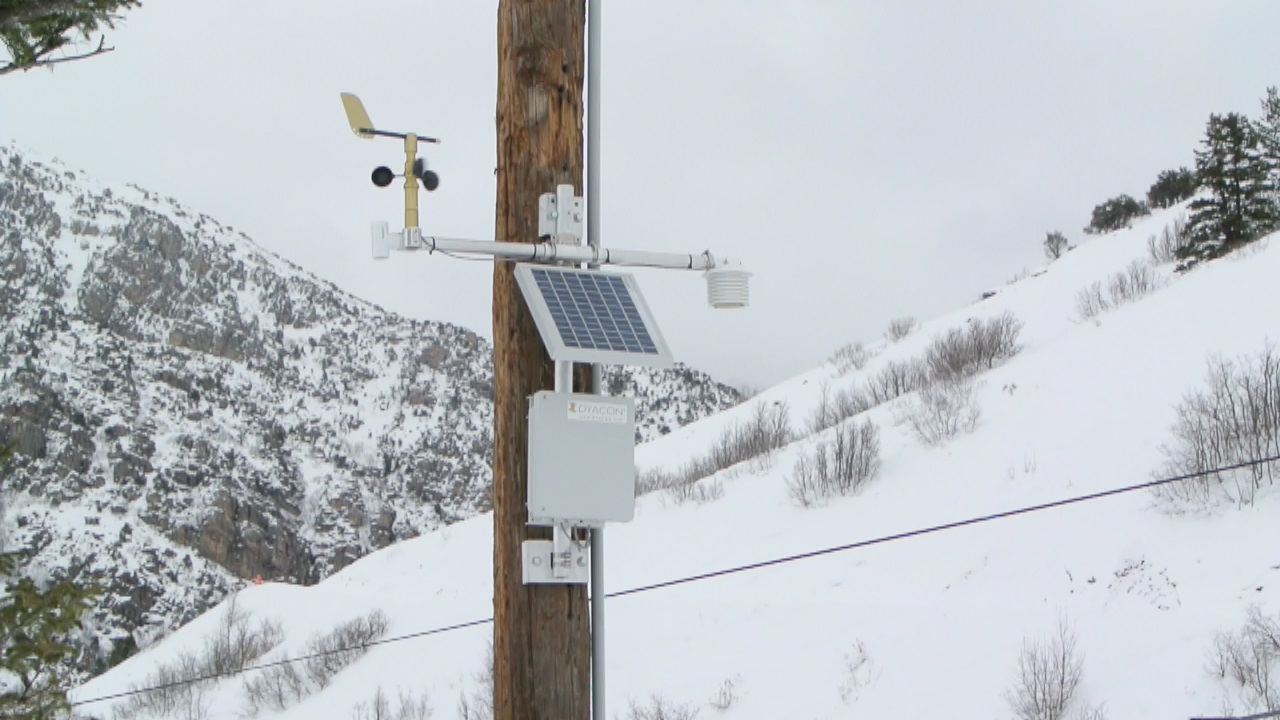 Cherry Peak Station Mounted
