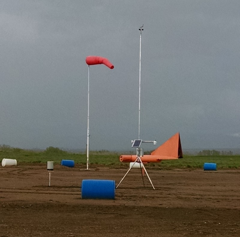 Preston Airport Weather Station