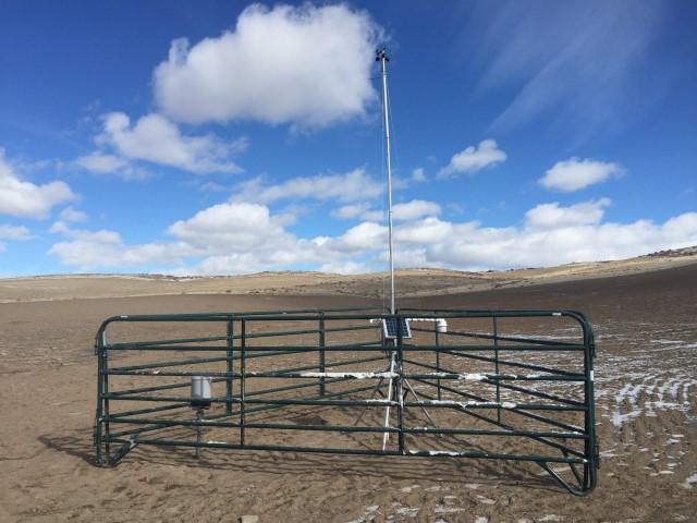 Rebuilt Weather Station Damage