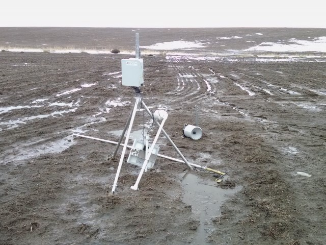 Ririe Weather Station Damage