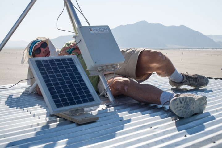 Burning Man Weather Station
