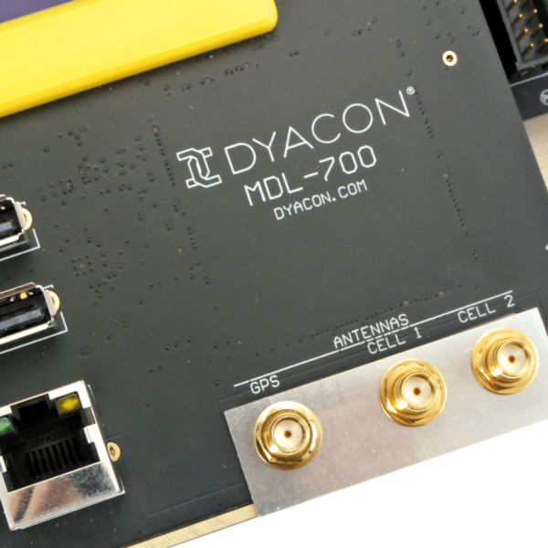 Dyacon MDL-700 Antenna and Name, 1
