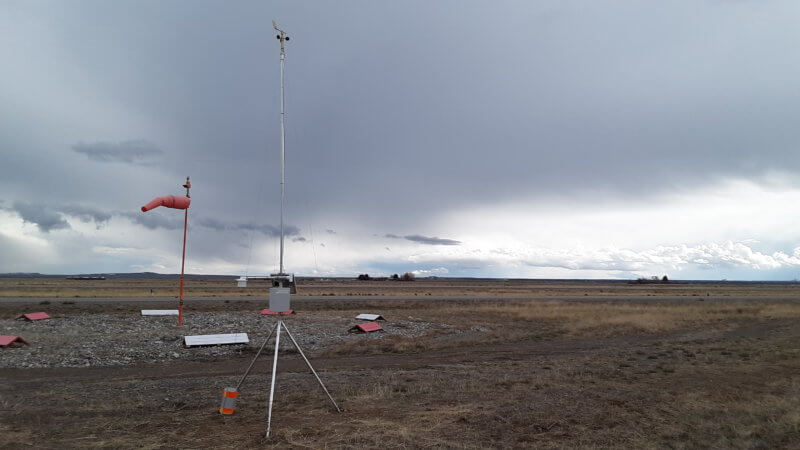 Rural Airport Weather Station